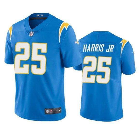 Chargers Chris Harris Jr Blue Jersey